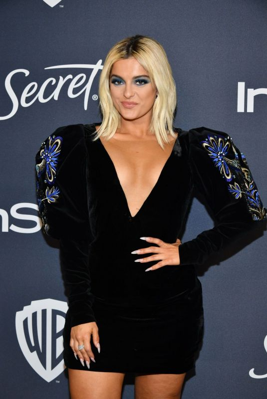 BEBE REXHA at Instyle and Warner Bros. Golden Globe Awards Party 01/05/2020