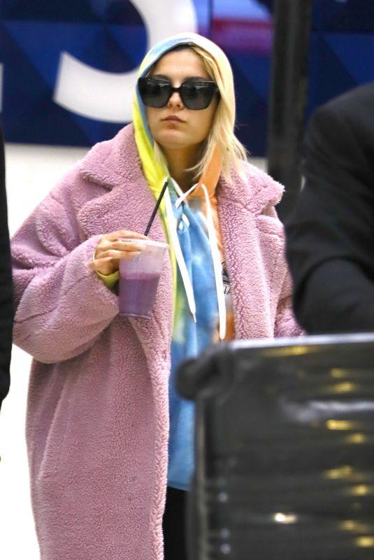 BEBE REXHA at Los Angeles International Airport 01/03/2020