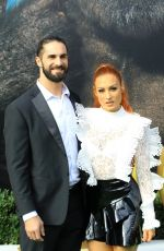 BECKY LYNCH at Dolittle Premiere in Westwood 01/11/2020