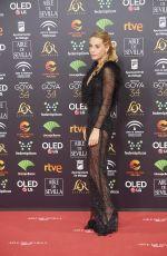 BELEN ECIJA RUEDA at 34th Goya Cinema Awards 2020 in Madrid 01/25/2020