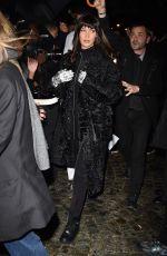 BELLA HADID Arrives at Dior Dashion Show at PFW in Paris 01/17/2020