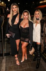 BELLA HASSAN, ELLIE BROWN and LAURA ANDERSON at Ballie Ballerson in London 01/21/2020