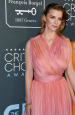 BETTY GILPIN at 25th Annual Critics Choice Awards in Santa Monica 01/12/2020