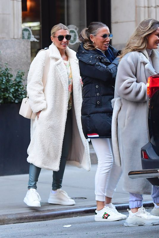 BILLIE and SAM FAIERS and SUZANNE WELLS Out in New York 01/20/2020