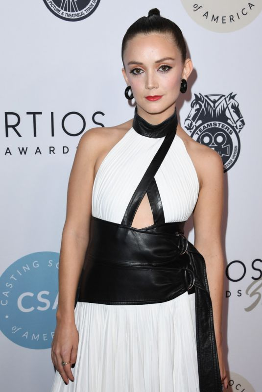 BILLIE LOURD at Casting Society of America