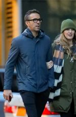 BLAKE LIVELY and Ryan Reynolds Out in New York 01/15/2020