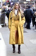 BLAKE LIVELY Arrives at Good Morning America in New York 01/28/2020