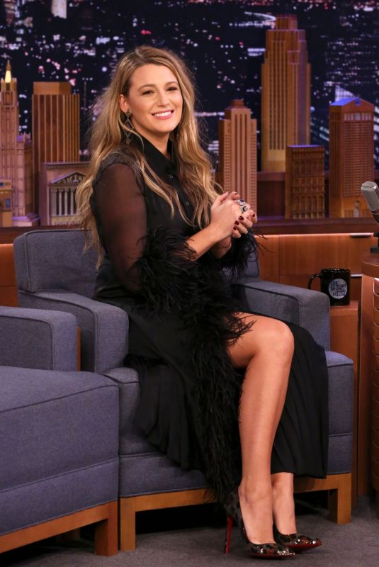 BLAKE LIVELY at Tonight Show Starring Jimmy Fallon 01/20/2020