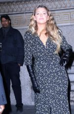BLAKE LIVELY Leaves Brooklyn Academy of Music in New York 01/28/2020