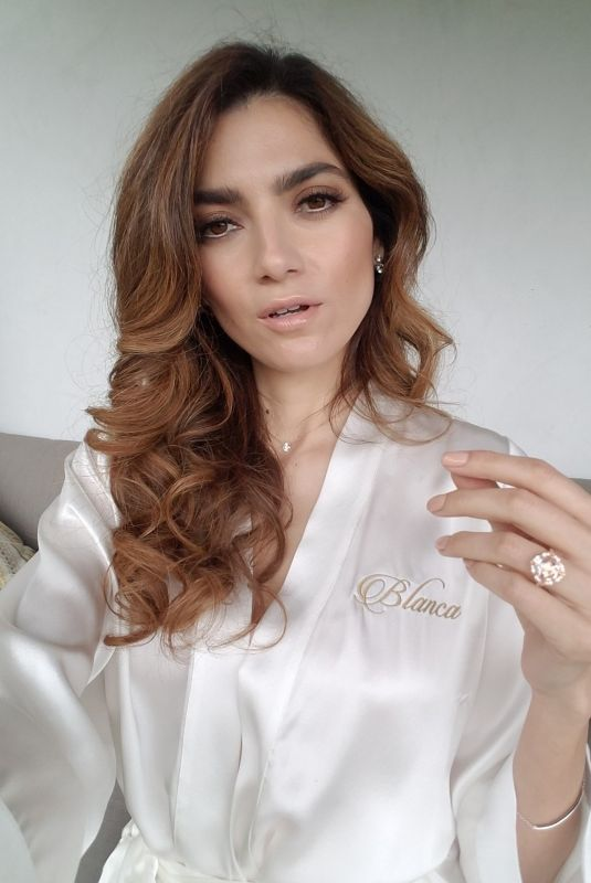 BLANCA BLANCO Shows off a New Look for New Year 01/01/2020