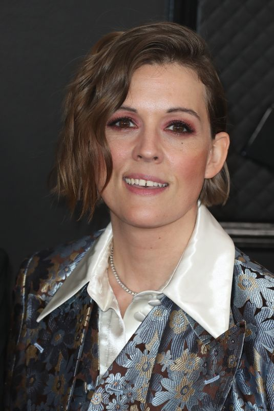 BRANDI CARLILE at 62nd Annual Grammy Awards in Los Angeles 01/26/2020