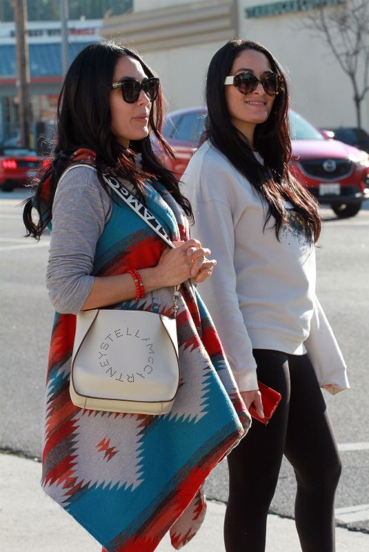 BRIE and NIKKI BELLA at Joan's on Third in Studio City 01/12/2020