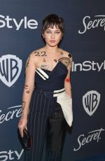 CAILEE SPAENY at Instyle and Warner Bros. Golden Globe Awards Party 01/05/2020