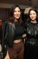 CAITRIONA BALFE, LAURA BROWN and MICHELLE DOCKERY at Instyle Badass Women Dinner in Hollywood 01/28/2020