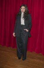CAMELIA JORDANA at Ami Alexandre Mattiussi Fashion Show at Paris Fashion Week 01/14/2020