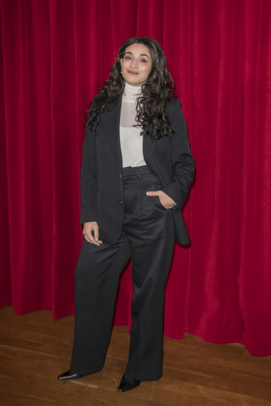 CAMELIA JORDANA at Ami Alexandre Mattiussi Fashion Show at Paris Fashion Week 01/14/2020