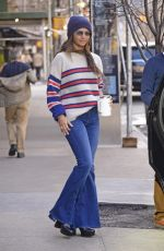CAMILA ALVES Leaves Greenwich Hotel in New York 01/12/2020