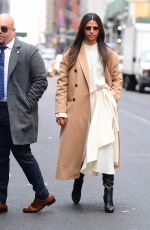 CAMILA ALVES Out and About in New Jersey 01/11/2020