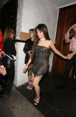 CAMILA CABELLO and Shawn Mendes Leaves Shawn
