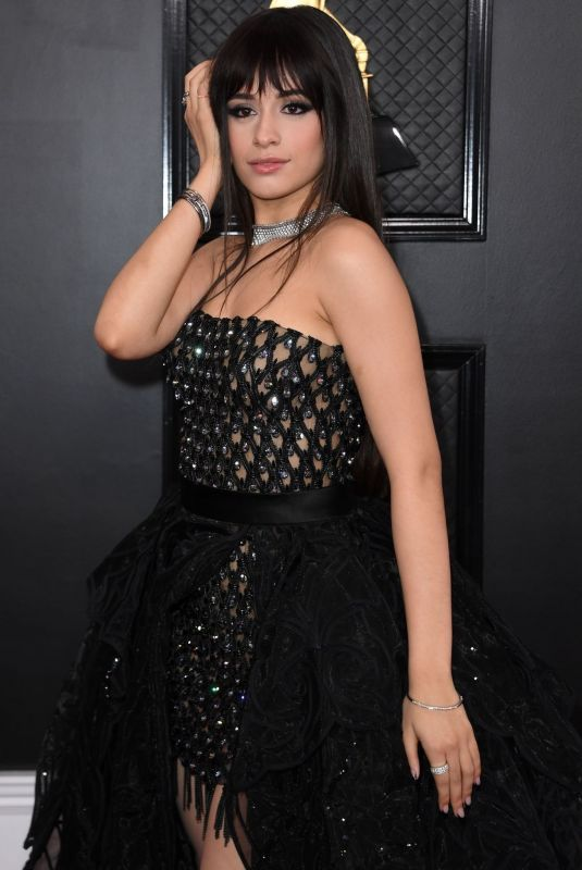 CAMILA CABELLO at 62nd Annual Grammy Awards in Los Angeles 01/26/2020