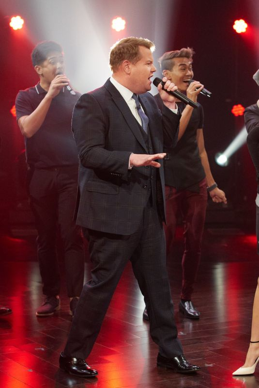 CAMILA CABELLO at Late Late Show with James Corden 01/16/2020