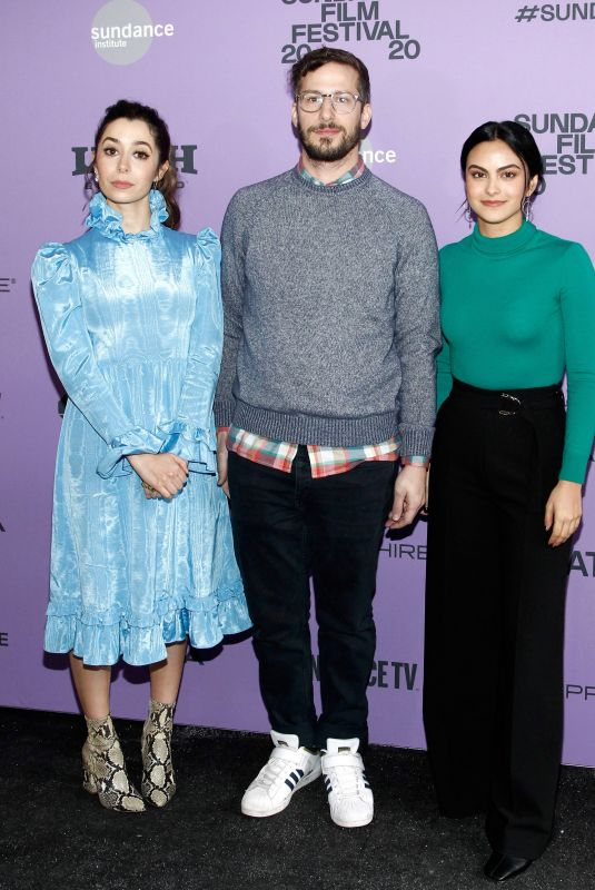 CAMILA MENDES and CRISTIN MILIOTI at Palm Springs Premiere at 2020 Sundance Film Festival 01/26/2020