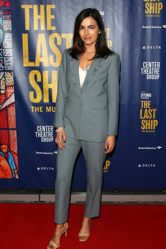 CAMILLA BELLE at The Last Ship Opening Night in Los Angeles 01/22/2020