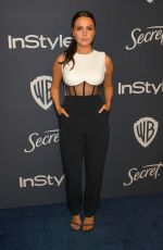 CAMILLA LUDDINGTON at Instyle and Warner Bros. Golden Globe Awards Party 01/05/2020
