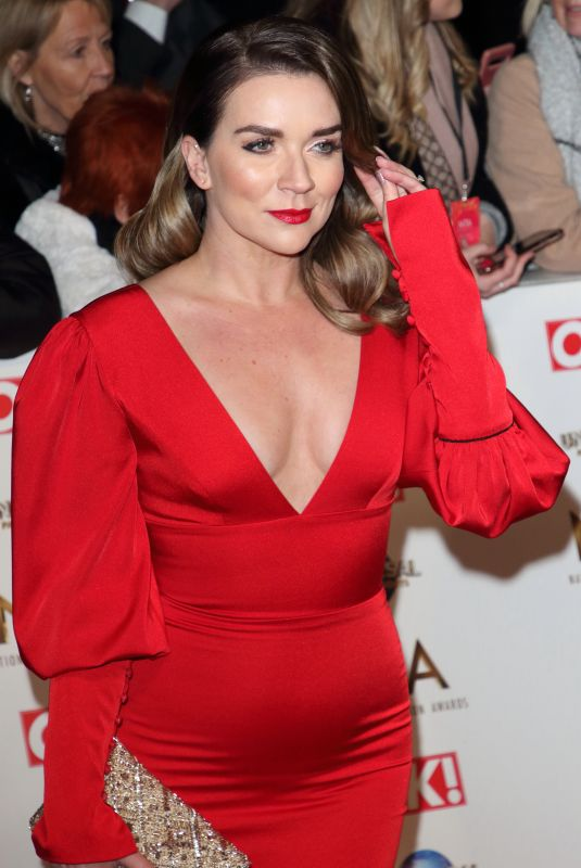CANDICE BROWN at National Television Awards 2020 in London 01/28/2020