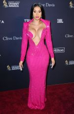 CARDI B at Recording Academy and Clive Davis Pre-Grammy Gala in Beverly Hills 01/25/2020