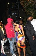 CARDI B Leaves a Grammys After-party in Los Angeles 01/26/2020