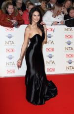 CARINA LEPORE at National Television Awards 2020 in London 01/28/2020