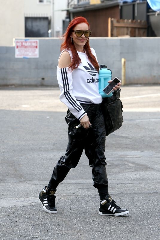 CARMIT BACHAR Arrives at Rehearsals for New Music Video in West Hollywood 01/16/2020