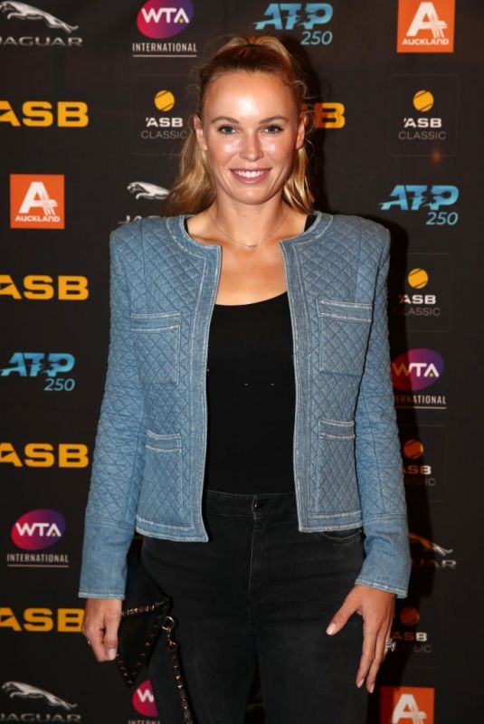 CAROLINE WOZNIACKI at 2020 ASB Classic Players Party in Auckland 01/05/2020