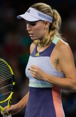CAROLINE WOZNIACKI at 2020 Australian Open at Melbourne Park 01/20/2020