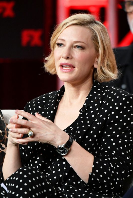 CATE BLANCHETT at 2020 Winter TCA Tour in Pasadena 01/09/2020