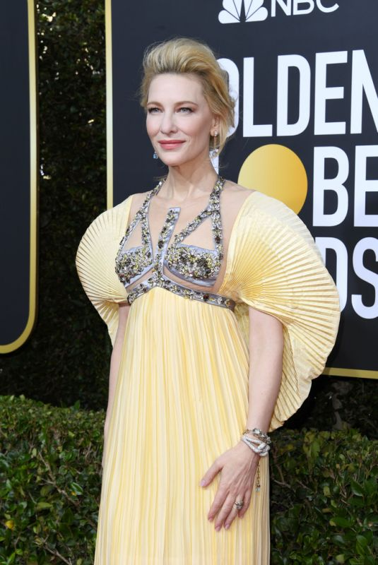 CATE BLANCHETT at 77th Annual Golden Globe Awards in Beverly Hills 01/05/2020