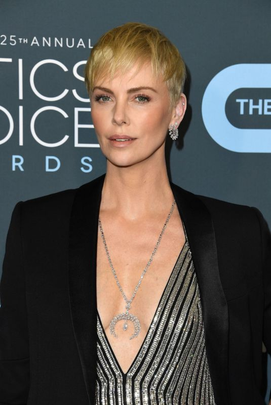CHARLIZE THERON at 25th Annual Critics Choice Awards in Santa Monica 01/12/2020