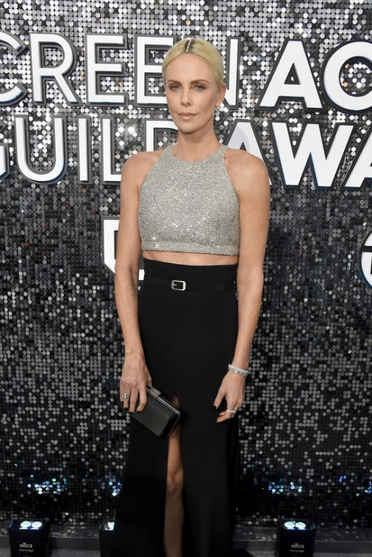 CHARLIZE THERON at 26th Annual Screen Actors Guild Awards in Los Angeles 01/19/2020