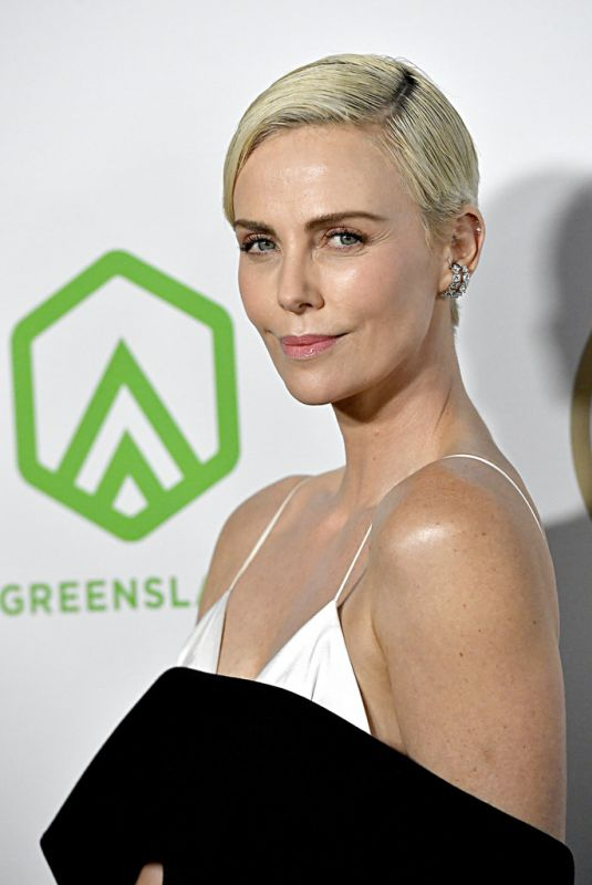 CHARLIZE THERON at Producers Guild Awards 2020 in Los Angeles 01/18/2020