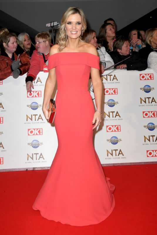 CHARLOTTE HAWKINS at National Television Awards 2020 in London 01/28/2020