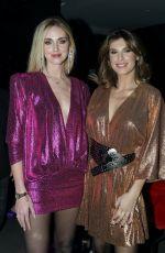 CHIARA FERRAGNI and ELISABETTA CANALIS at Aniye Fall/Winter 2020 Fashion Show in Milan 01/20/2020