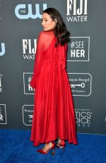 CHLOE BRIDGES at 25th Annual Critics Choice Awards in Santa Monica 01/12/2020
