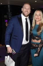 CHLOE MADELEY and James Haskell at Takeaway Awards in London 01/27/2020