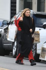 CHLOE MORETZ Out Shopping in Beverly Hills 01/16/2020