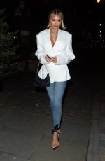 CHLOE SIMS at Chiltern Firehouse in London 01/03/2020