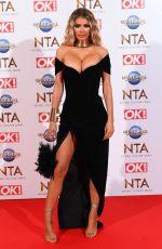 CHLOE SIMS at National Television Awards 2020 in London 01/28/2020