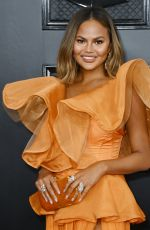 CHRISSY TEIGEN at 62nd Annual Grammy Awards in Los Angeles 01/26/2020