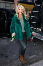 CHRISTIE BRINKLEY Out and About in Los Angeles 01/22/2020