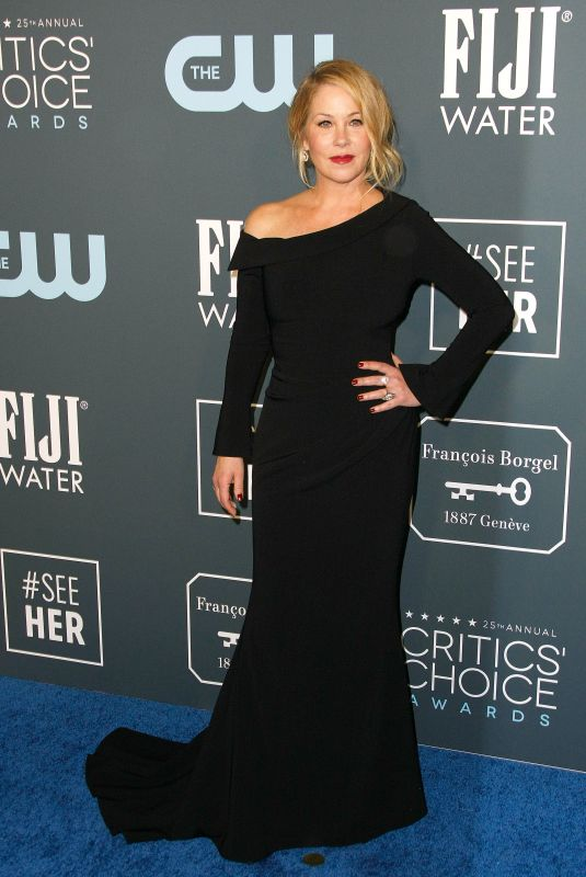 CHRISTINA APPLEGATE at 25th Annual Critics Choice Awards in Santa Monica 01/12/2020